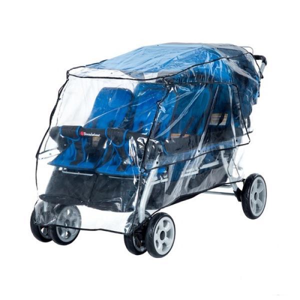 kita krippenwagen regenschutz f r kinderwagen 6 sitzer. Black Bedroom Furniture Sets. Home Design Ideas