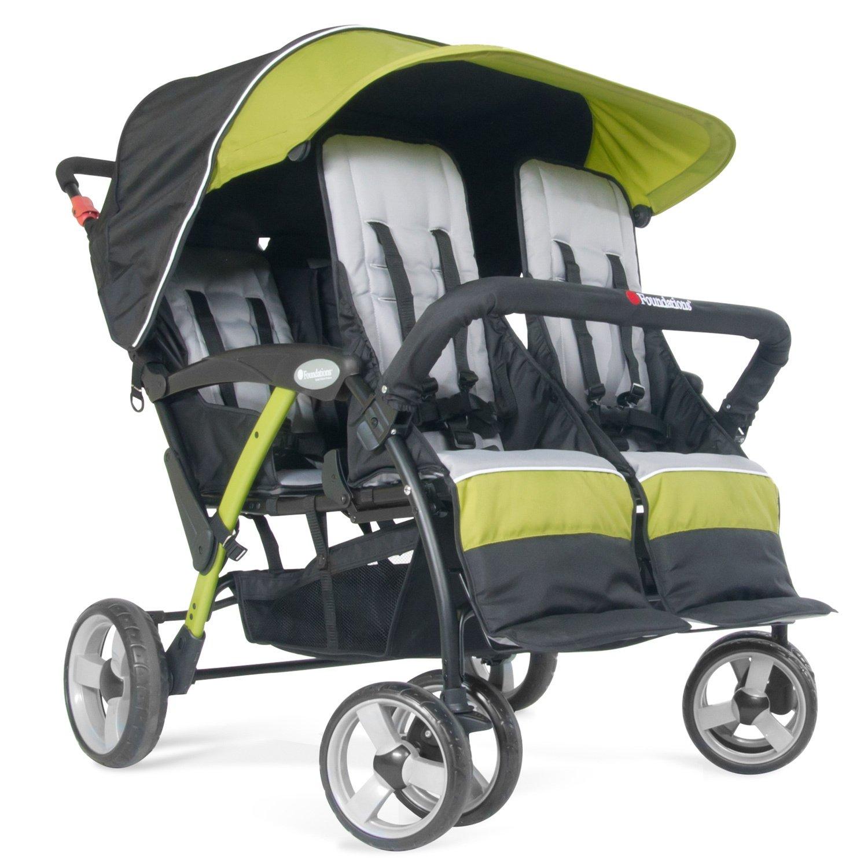 kita krippenwagen kinderwagen 4 sitzer linea quard sport. Black Bedroom Furniture Sets. Home Design Ideas